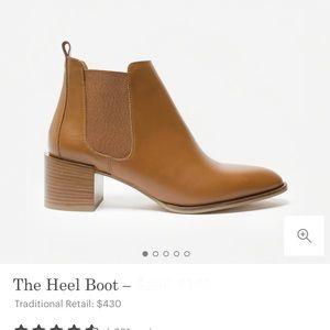 Everlane The Heel Boot, Cognac